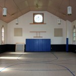 Awesome Gym and soon to be Stage area!