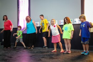 """Learning a """"crocodile"""" dance!"""