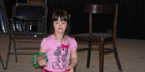 Aralynn Plays the Tambourine